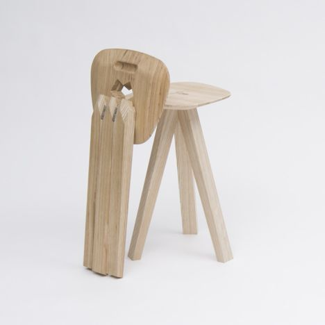 Folding Stool by Jack Smith & Best 25+ Folding stool ideas on Pinterest | Folding chairs and ... islam-shia.org