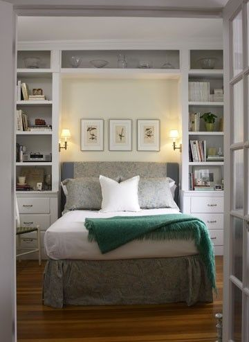 Best Built In Bookcase Around Bed Great Idea For Small Bedroom 400 x 300