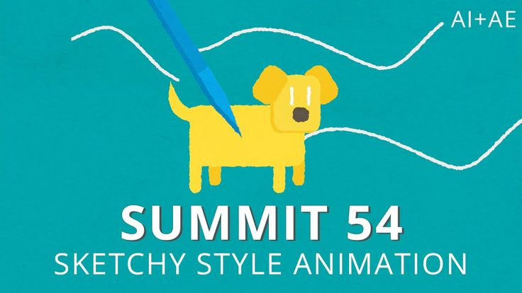Summit 54 - Sketchy Style Animation - After Effects