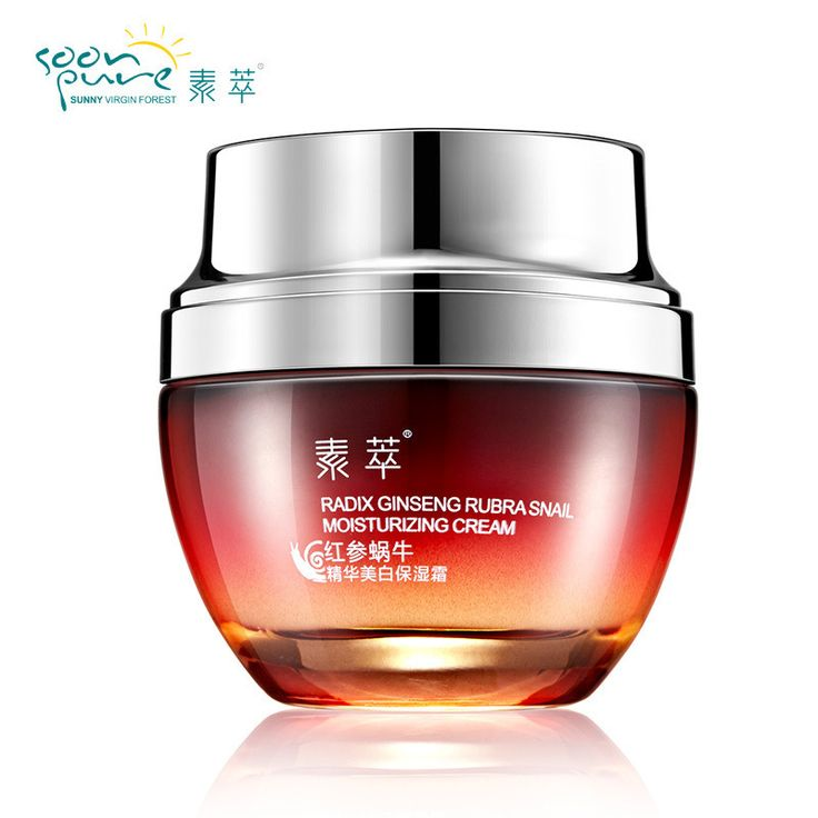 Red Ginseng Snail White Cream Skin Care Acne Scars Remover Anti Wrinkle Moisturizing Anti Aging Whitening Face Care Snail Cream