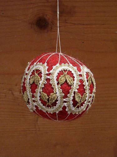 Vildist jõulumuna niplispitsiga