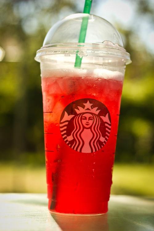 Passion Fruit Iced tea lemonade! :)   ¤ Starbucks ¤   Pinterest ...