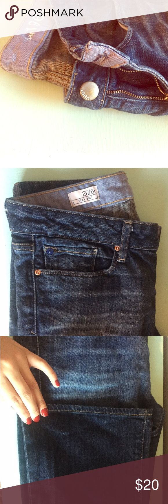 Gap Boot Cut Jeans Gap Boot Cut jeans! Super cute with heels or heeled boots! GAP Jeans Boot Cut