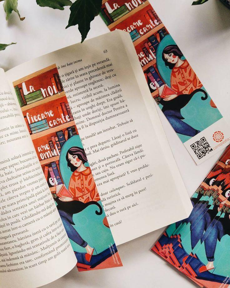 """Ilustrație de Yanna Zosmer: """"La noi, fiecare carte are omul ei""""."""
