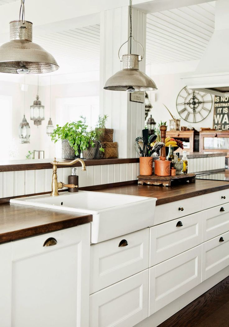 Best Butcher Block Countertop Cottage Makeover Pinterest 400 x 300