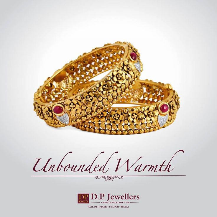 Fashion is just a trend. Style is based within us! We let you live with today's Vogue. #DPJewellers #Newcollection #Bangles #Rings #Earrings #WeddingJewellery