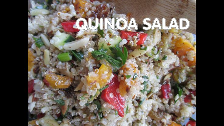 Quinoa Salad and Kaniwa Salad video by Hayko Inukai Pattison