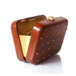 Wooden clutches, Festive '13, Rachana Reddy, Sparkle