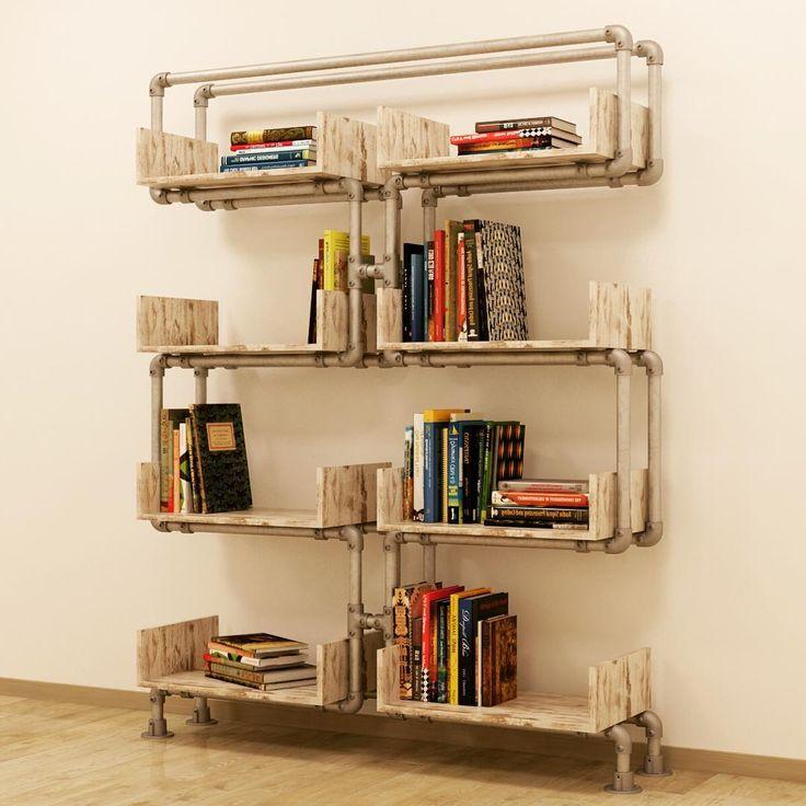 #libreria #bookcases #hydraulic #tube #hydraulictube #arredamento #arredocasa #industrialdesign #industrialstyle #arredocasa #libri #tuboidraulico #book