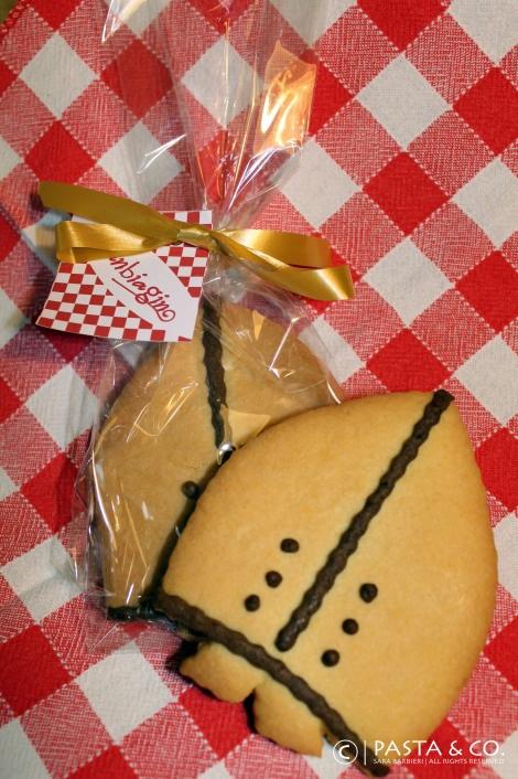 San Biagino, the typical cookie from San Biagio ward in Borsano, Busto Arsizio, Italy