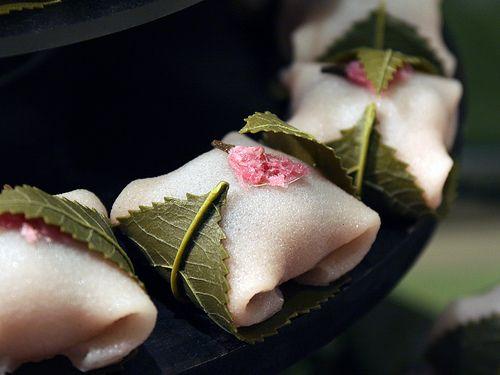 Japanese sweets -sakuramochi-
