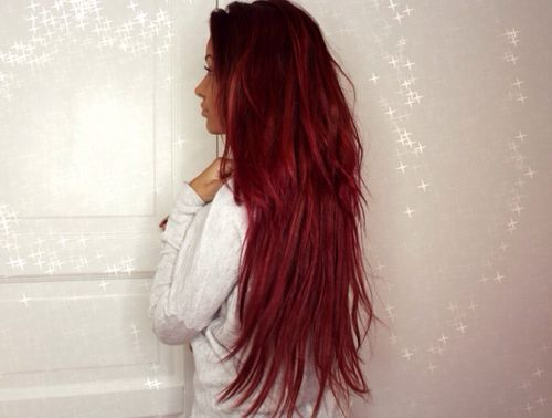 Red hair, Red hairstyles and Tumblr on Pinterest