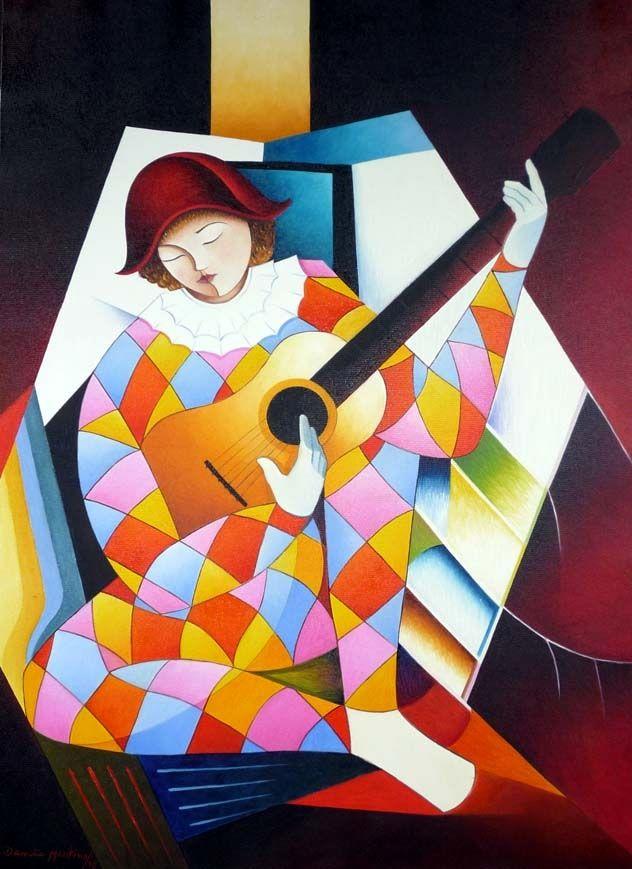 Arlequim musico - Damiao Martins - Regenbogen - Art & Books