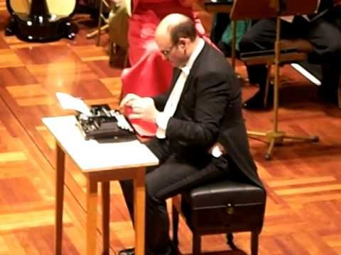 The Typewriter  Leroy Anderson   Martin Breinschmid with Strauß Festival...