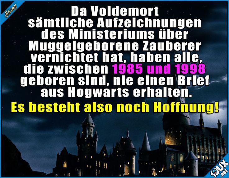 Vielleicht bin ich ja doch ein Zeuberer! #Potterliebe #Hoffnung #Humor #lachen