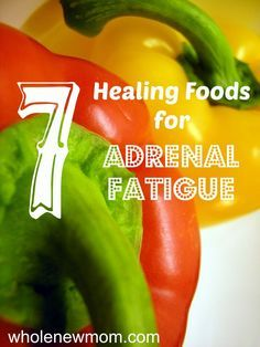 Let food be thy medicine for helping with your adrenal fatigue - Good Food Eating guest post at Whole New Mom