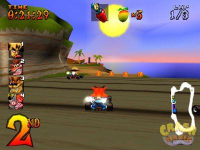 Kode Cheat Game Crash Team Racing (CTR) PS1