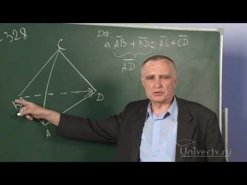 Сложение и вычитание векторов  Умножение вектора на число