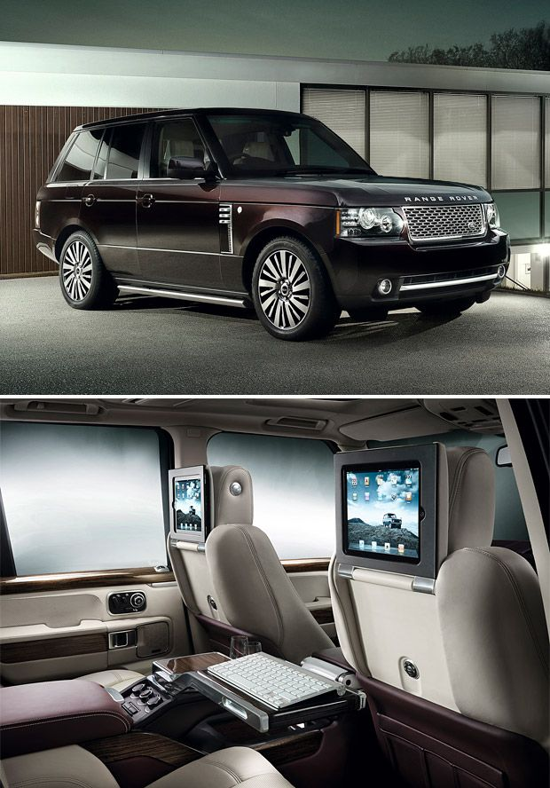 Range Rover Autobiography Ultimate Edition....absolutely AMAZING INTERIOR...BUT I HAVE HEARD THESE CARS AREN'T GOOD, ALWAYS IN THE SHOP