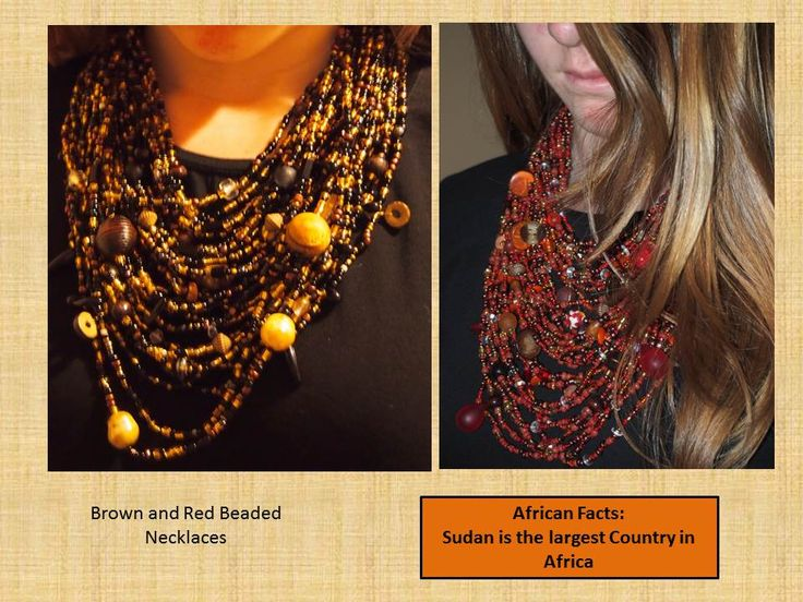 Both gorgeous pieces. Can't wear without getting complements!
