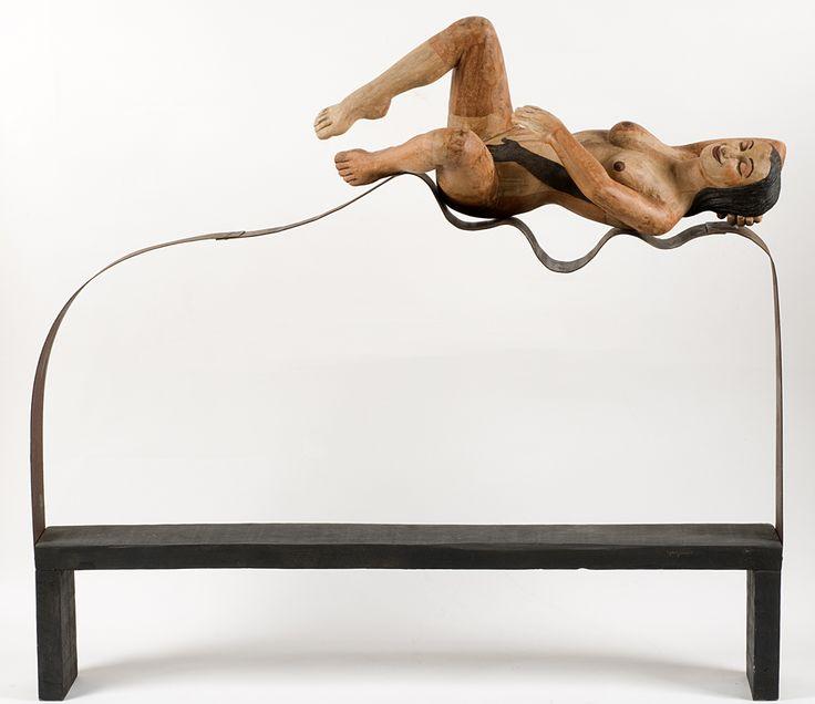 SELF-SEX. 95 x 30 x 115 cm. Madera y acero. 4.500 €