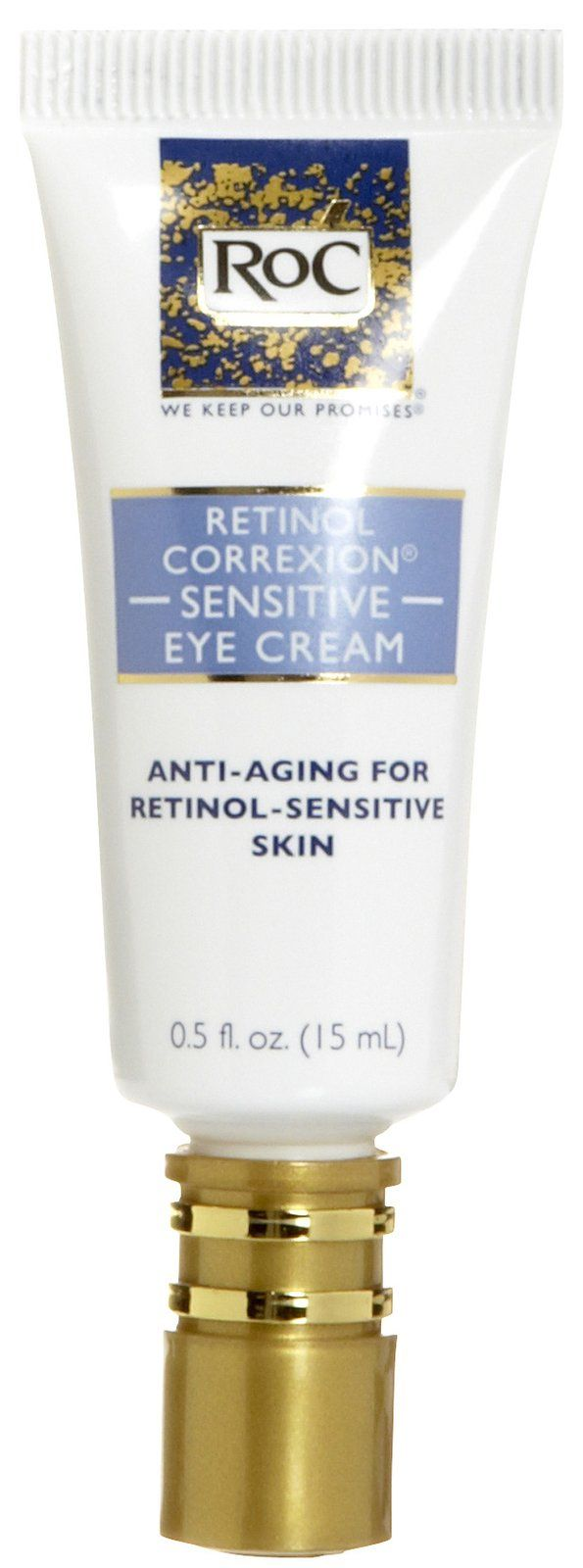 RoC Retinol Correxion Sensitive Eye Cream is an innovative product that helps fight against aging skin. 2012 Best of Beauty Award Winner. @Allure Magazine #beautycentral