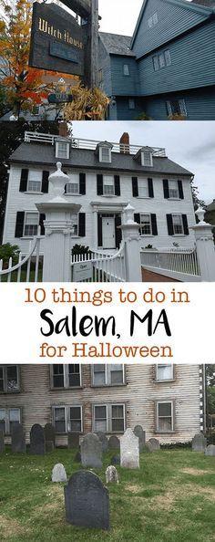 It doesn't get much better than visiting Salem, Massachusetts for Halloween!