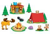 "Checkout the ""Camping Bulletin Board Set"" product"