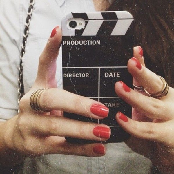 Director iPhone Case. I want this so much!