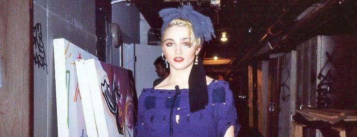 Foto rara da Madonna em 1983