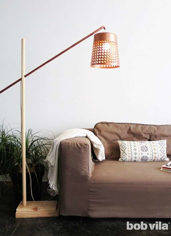 16 Brilliant Lighting Ideas You Can Diy On A Dime Diy Floor Lamp