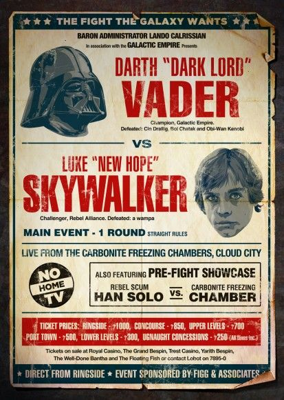 Designer | Old Red Jalopy: Geek, Darth Vader, Stuff, Fight, Stars, Star Wars, Movie Poster, Starwars