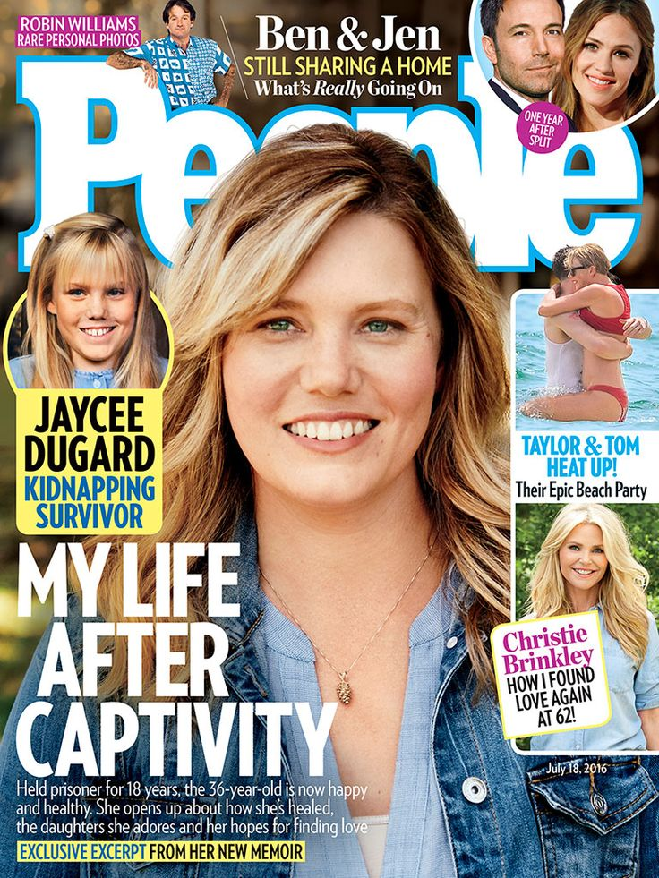 Jaycee Dugard on Motherhood, Rebuilding Her Life and Her Dreams for the Future http://www.people.com/article/jaycee-dugard-raising-daughters-after-captivity-motherhood