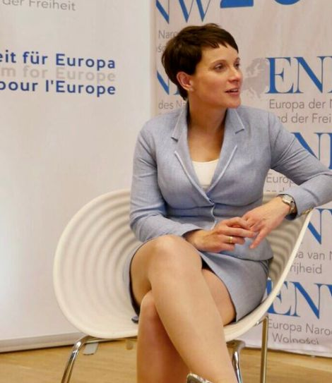 Frauke Petry Minirock