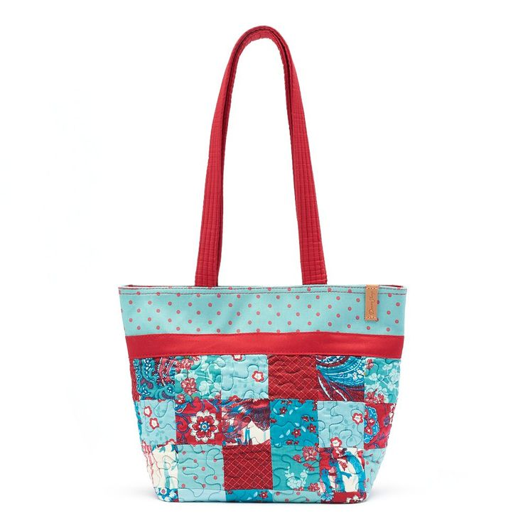 Donna Sharp Quilted Patchwork Tote, Women's, Multicolor