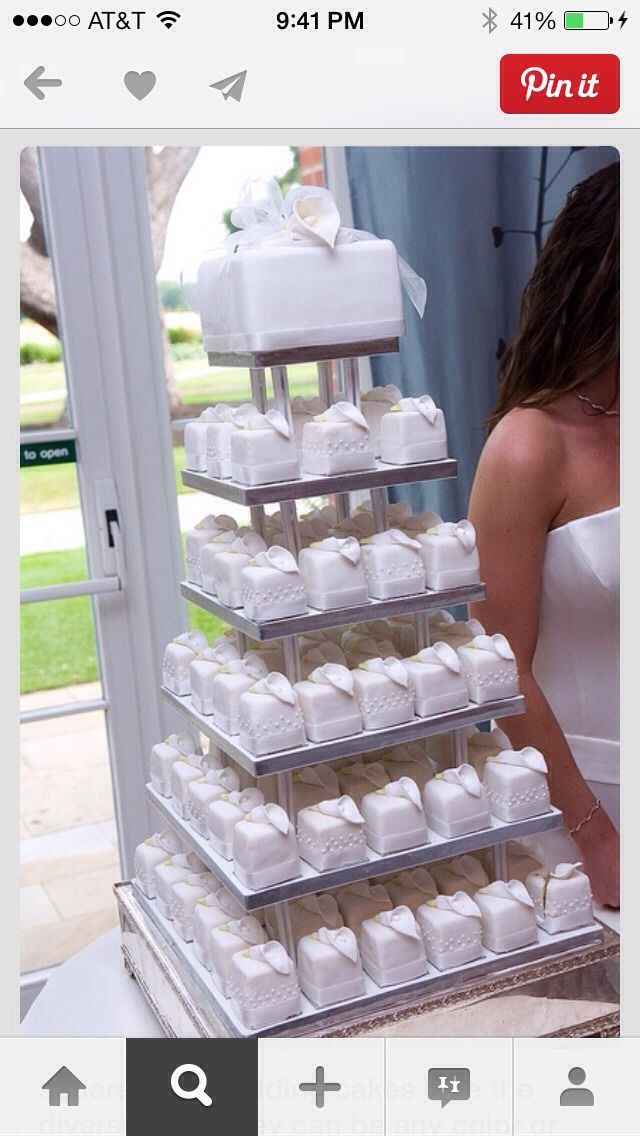 Mini Wedding Cakes♥️♥️♥️ #Various #Trusper #Tip