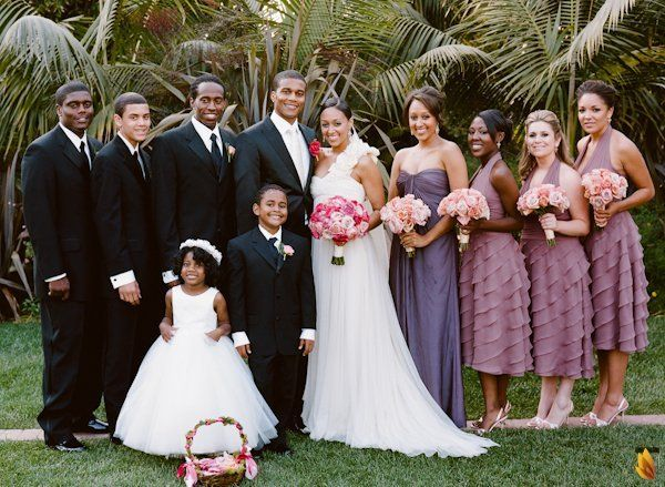 Tia Mowry&Cory Hardrict Gorgeous California Wedding