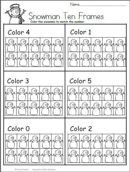 796 best Sayılar images on Pinterest Kindergarten, Preschool and - ten frame template