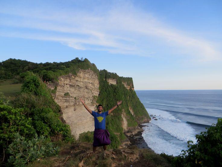 On a cliff at Uluwatu Monkey Temple
