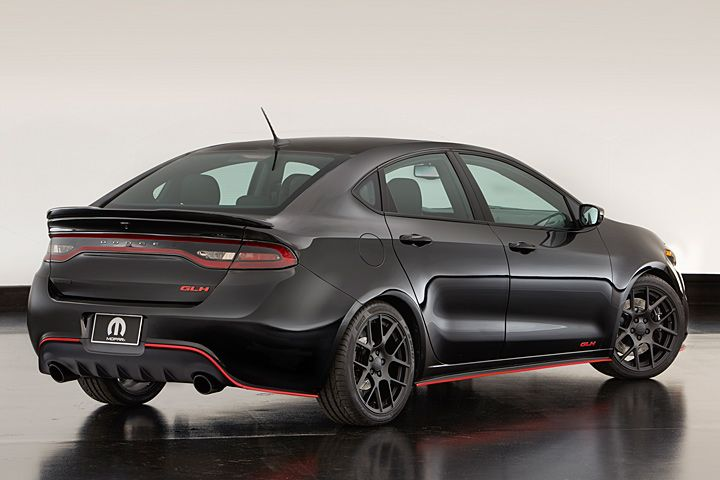 News from the 2015 SEMA Show in Las Vegas has the 2016 #Dodge Dart GLH concept making a bold statement! http://news.boldride.com/2015/11/dodge-dart-glh-omni-concept/93269/