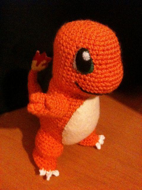 Charmander Amigurumi, Pokemon and Crochet