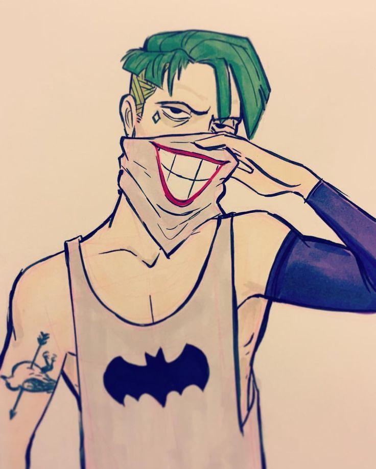 The Joker • Concept Art// color sleeve