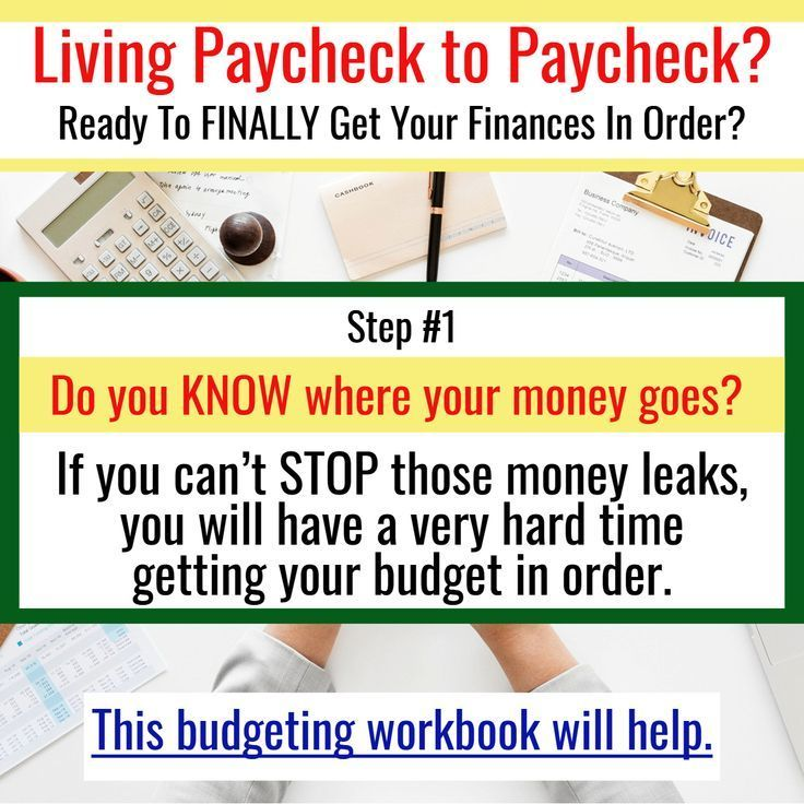 Budgeting Printables And Worksheets For Organizing Finances When You Re Living Paycheck To Paycheck Saving Mon Budgeting Budgeting Money Finance Organization