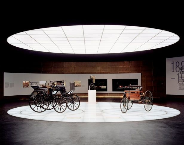 Exhibition Display Space Museum Stands Car Daimler Benz Museums Stuttgart Mercedes