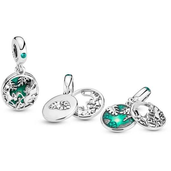 Timon and Pumbaa Charm S925 Sterling Silver Fits Pandora and ...