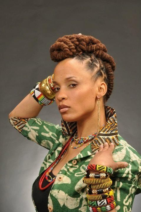 I love this Loc Style | Black Women Natural Hairstyles