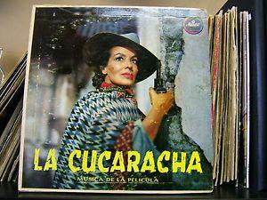 LA CUCARACHA LP/MUSICA DE LA PELICULA/MARIA FELIX | eBay
