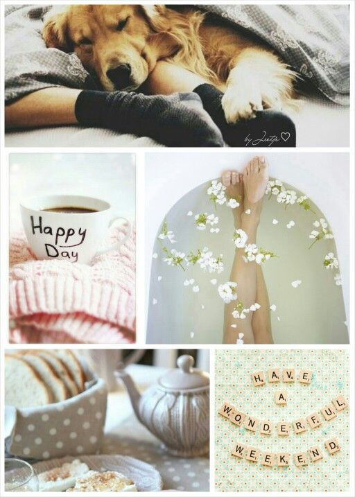 Wonderful Weekend. #Moodboards #Mosaic #Collage by Jeetje♡