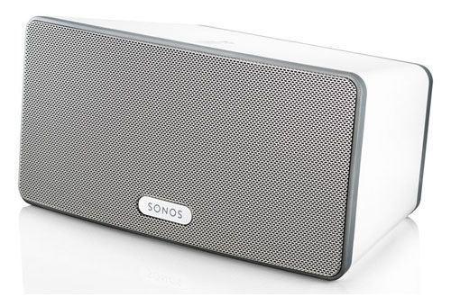 The SONOS PLAY:3 is a versatile wireless speaker with a 3 driver HiFi speaker system for rich, room-filling sound. Read the full SONOS PLAY:3 Wireless Speaker review. #sonos #sonoswirelesspeakers #wirelesspeakers #SONOSPLAY3