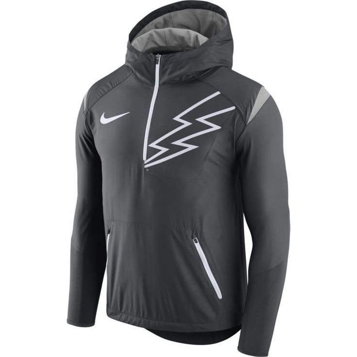 Nike Men's Air Force Anthracite Fly Rush Football Jacket, Size: Medium, Team  https://www.fanprint.com/licenses/air-force-falcons?ref=5750